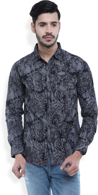 Spykar Mens Printed Casual Shirt