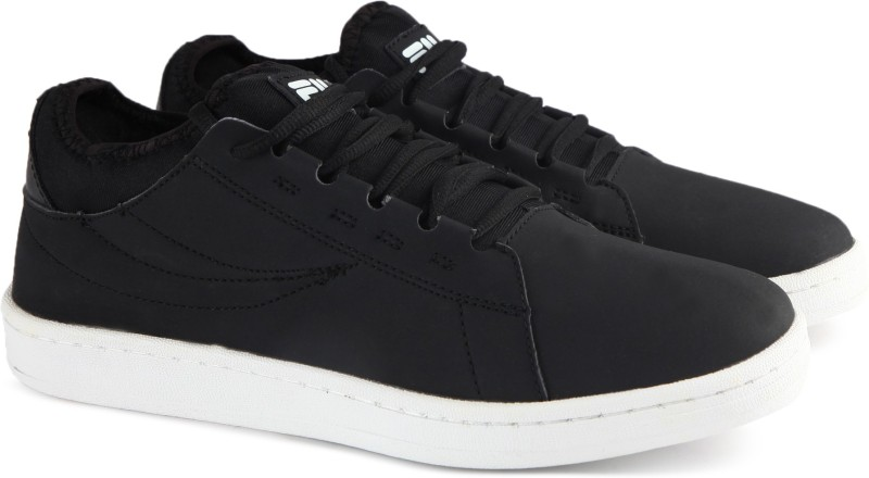 Fila GODWIN Canvas Shoes For Men(Black)