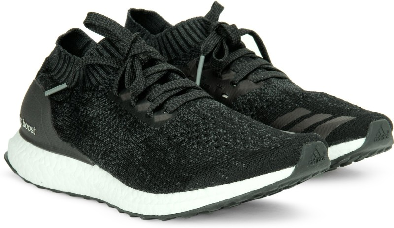 Adidas ULTRABOOST UNCAGED Running Shoes For Men(Black, Grey)