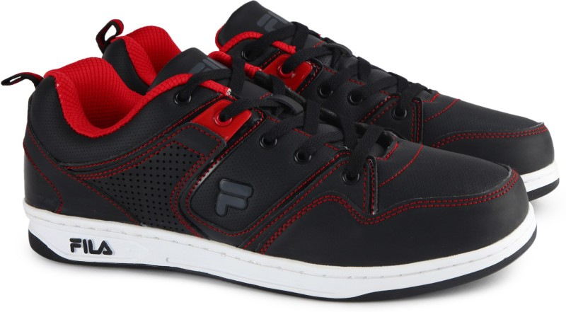 Fila WOODY Canvas Shoes For Men(Black)