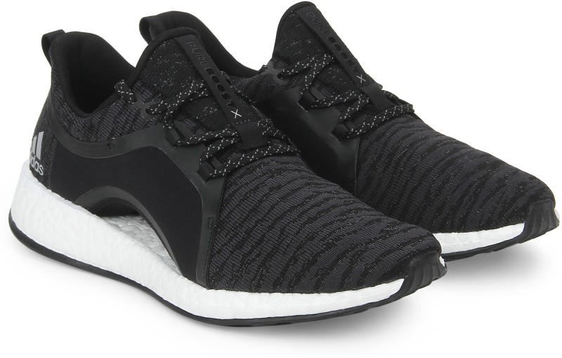 ADIDAS PUREBOOST X Running Shoes For Women(Black)