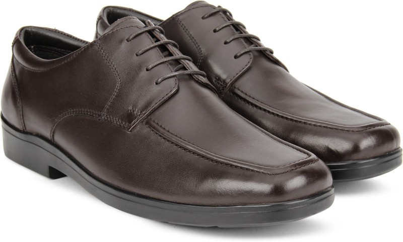 Hush Puppies By Bata MAYCOB Formal Shoes For Men(Brown)