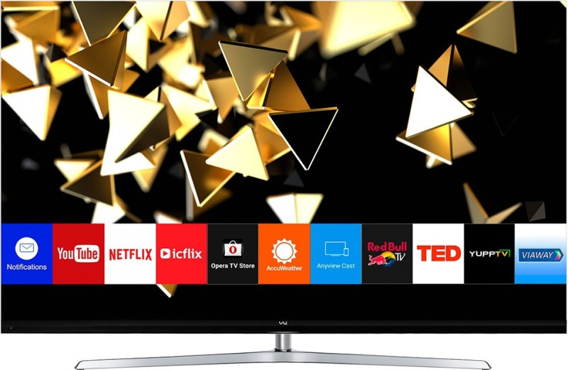 Vu 163cm (65 inch) Ultra HD (4K) QLED Smart TV(65HQ137)