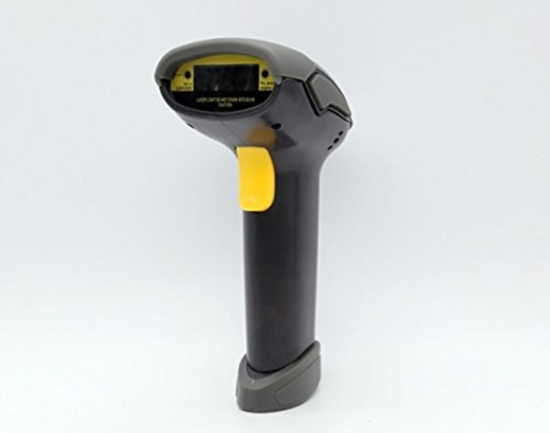 ShopyBucket Laser Barcode Scanner USB Support Interface Laser Barcode Scanner KT1 Laser Barcode Scanner(Handheld)