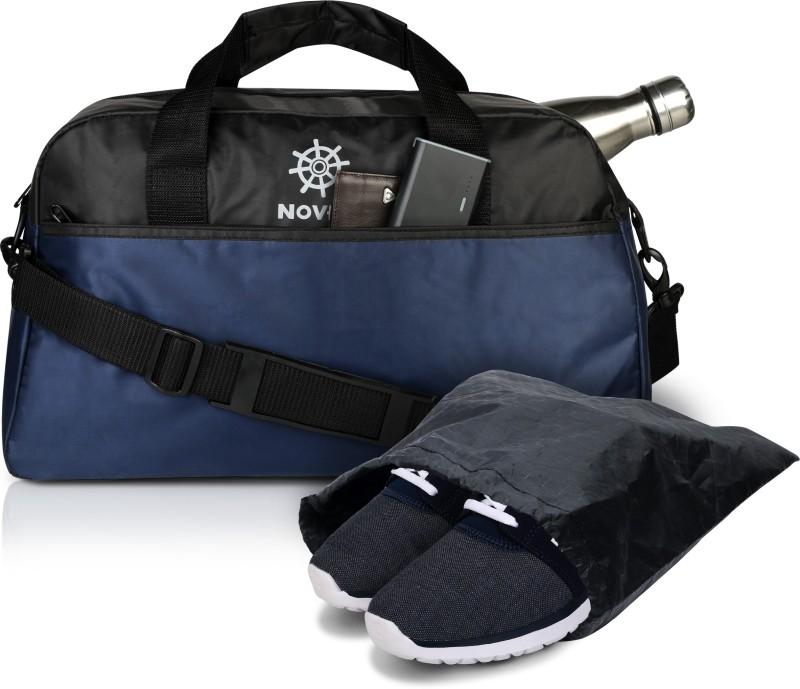 Novex Gear Gym Bag(Blue)