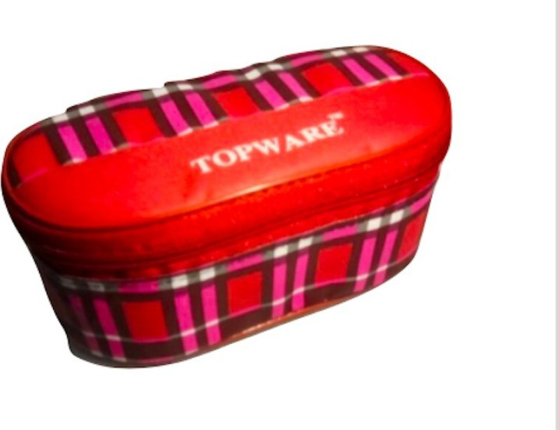 Topware Red&Pink 3 Containers Lunch Box(600 ml)