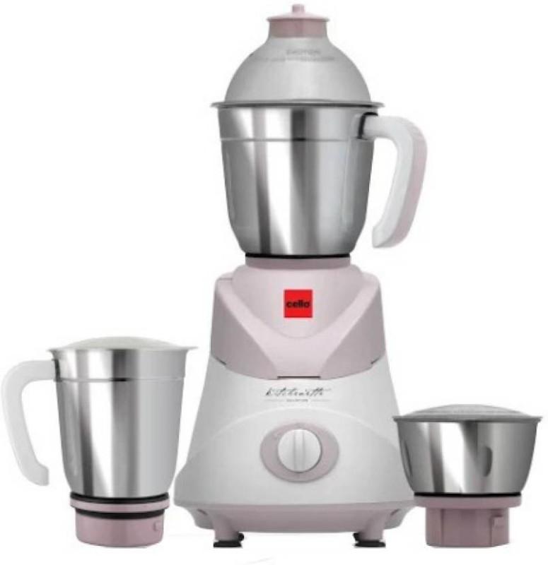 Cello Swift 500 W Mixer Grinder (Pink, 3 Jars) 500 Mixer Grinder(Pink, 3 Jars)