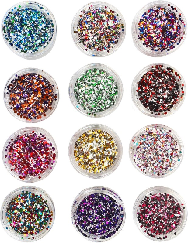 Kelley Nail Crystal Powder(Pack of 12)