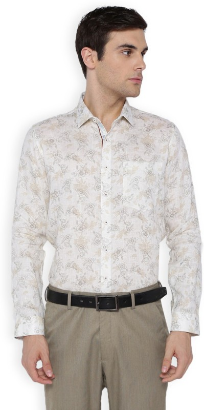 Van Heusen Men Printed Formal Shirt