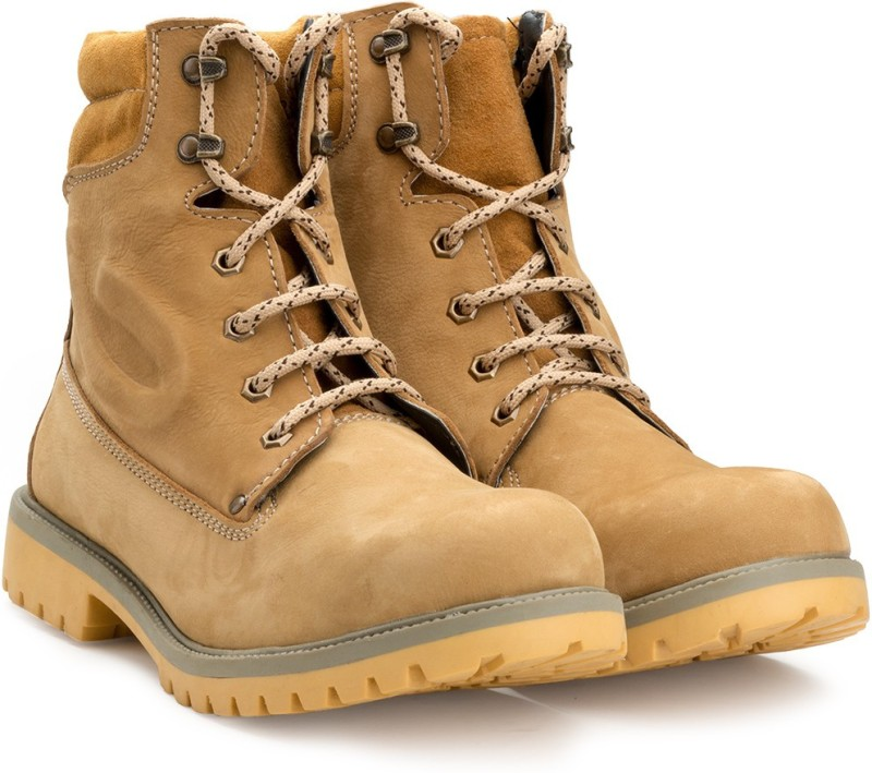 Escaro ES4054BK_Camel_10 Boots For Men(Khaki)