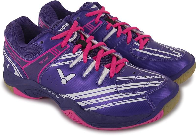 Victor A-610-F Badminton Shoes For Women(Purple)