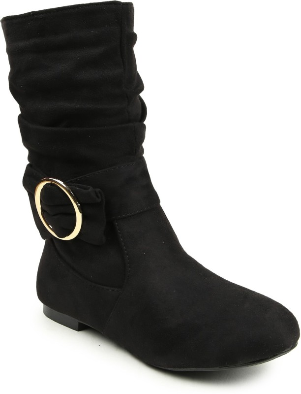 Lovely Chick Boots For Women(Black)