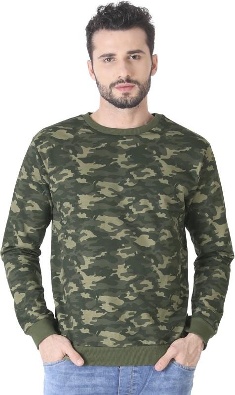 Bewakoof Full Sleeve Solid Men's Sweatshirt