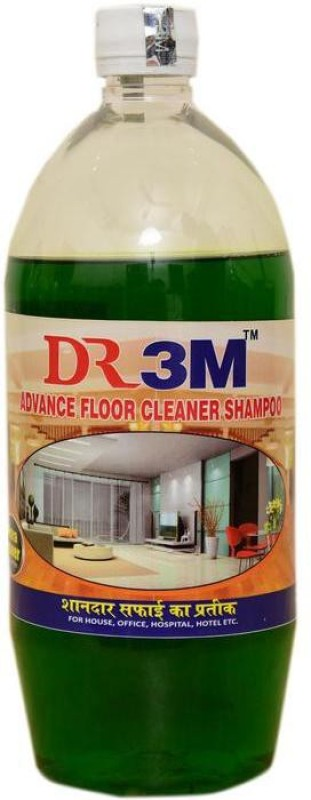 DR3M ADVANCE FLOOR SHAMPOO - JASMEIN 1ltr. Regular Liquid Toilet Cleaner(1 L)