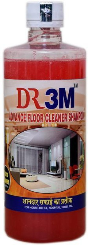 DR3M ADVANCE FLOOR SHAMPOO - ROSE 500ml. Regular Liquid Toilet Cleaner(0.5 L)