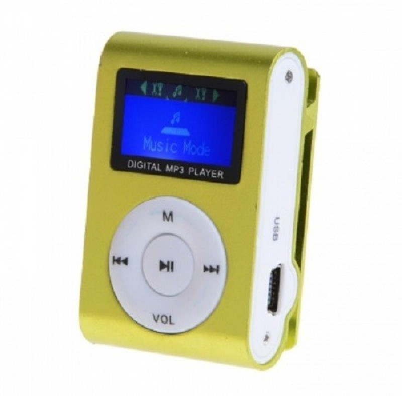 Mezire HiFi Stereo Super Bass sound Premium Design Rechargeable Battery Enjoy Music -M1 MP3 Player (Green, 1.2 Display) 16 GB MP3 Player(Green, 1.2 Display)
