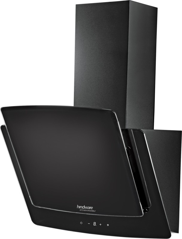 Hindware Kyra 60 Wall Mounted Chimney(Black 1000)