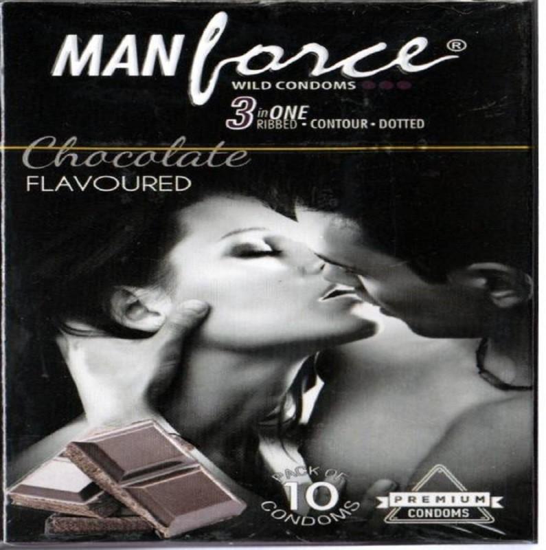 Manforce chocolate Condom(10S)