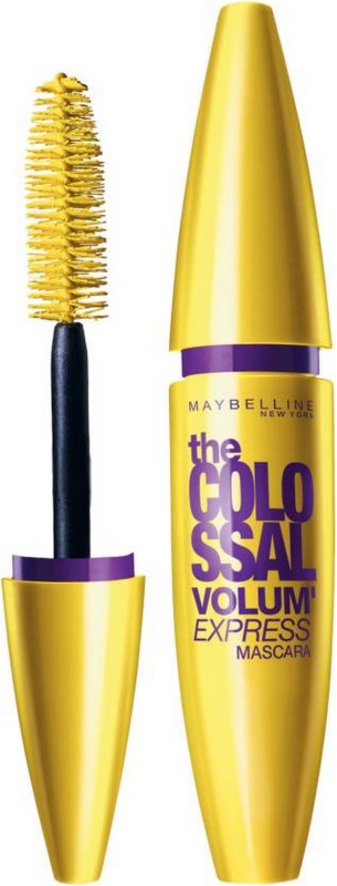 Maybelline Volum Express Colossal mascara 10.7 ml (GLAM BLACK) 10.7 ml(yellow)