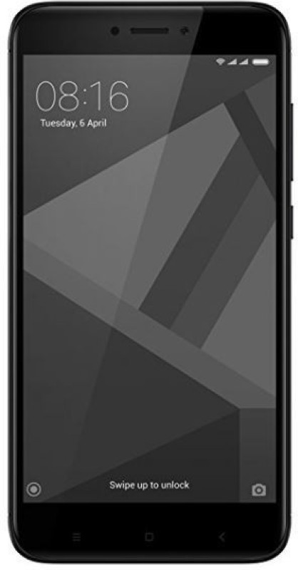Xiaomi Redmi 4 (Black, 64 GB)(4 GB RAM)