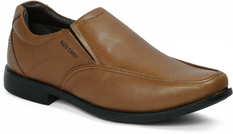 Red Chief Slip On For Men(Tan)