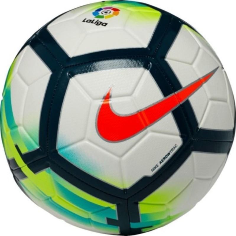 Nike LL La Liga Strike Football - Size: 5(Pack of 1, White)