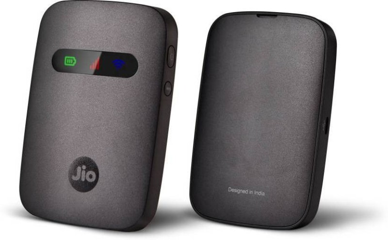 Jio i3(JMR540) Data Card(Black) image