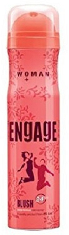 Engage Woman Blush Deodorant Spray - For Women(150 ml)