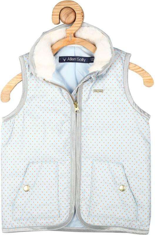 Allen Solly Sleeveless Printed Girls Jacket