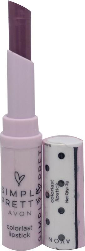 Avon Simply Pretty Colorlast Lipstick(plumberry, 2 g)