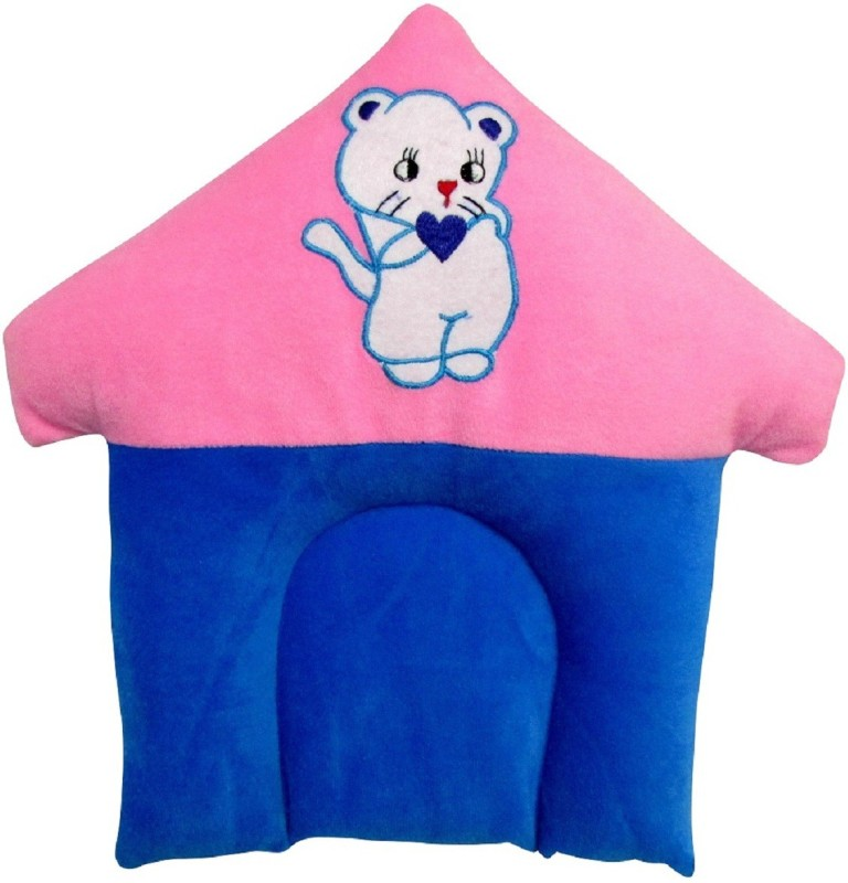 My Little Champ Baby Lion Baby Pillow Pack of 1(Pink, Blue)