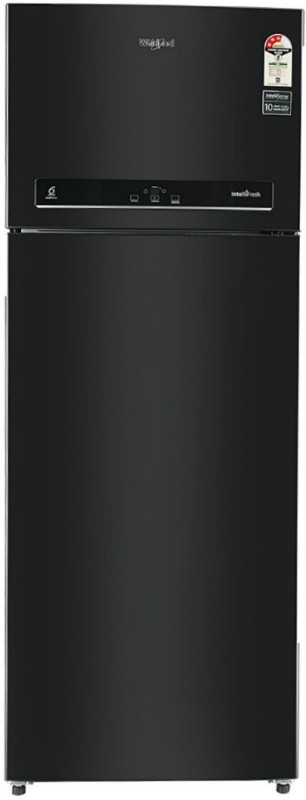 Whirlpool 500 L Frost Free Double Door 3 Star Refrigerator(Caviar Black, IF 515)