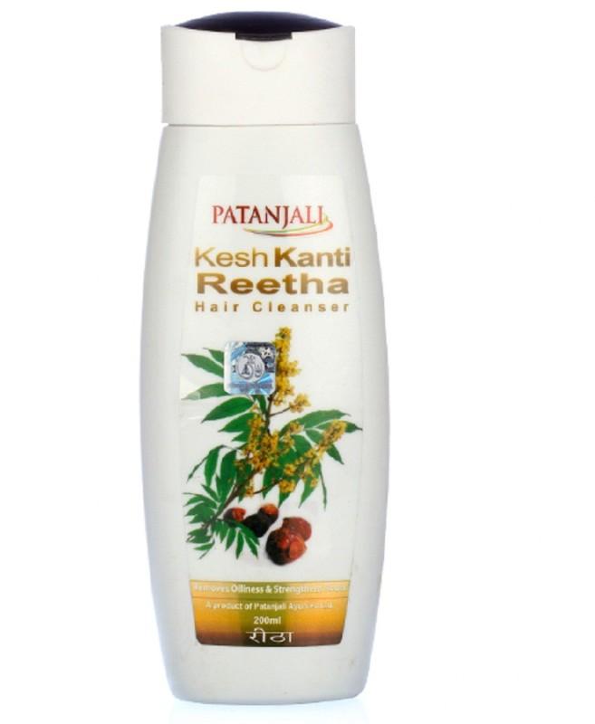 Patanjali Kesh Kanti Reetha Shampoo(200 ml)