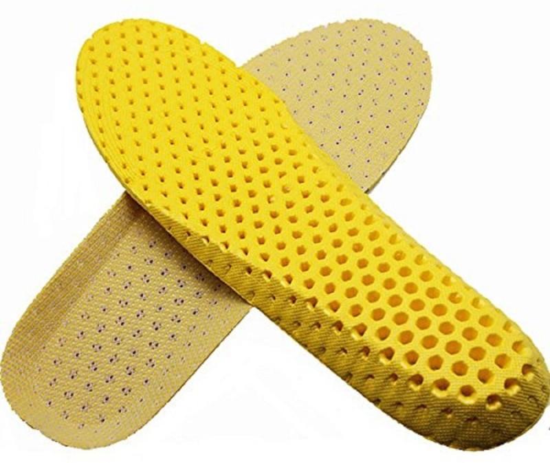 Aeoss PU Foam Full Length Regular Shoe Insole(Yellow)