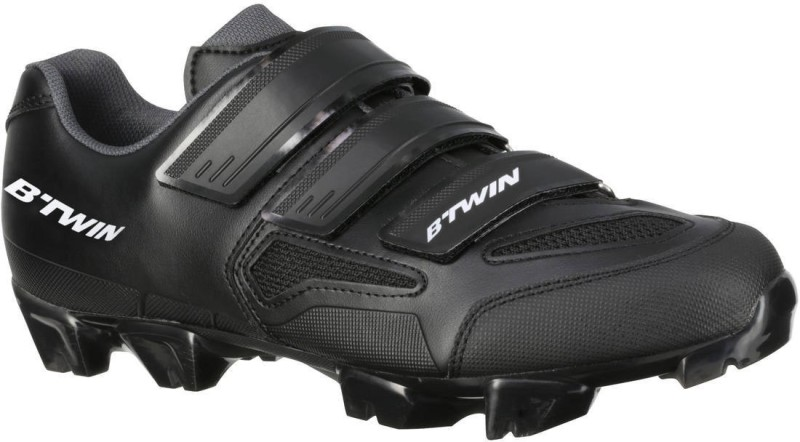Btwin by Decathlon XC 100 Cycling Shoes For Men(Black)