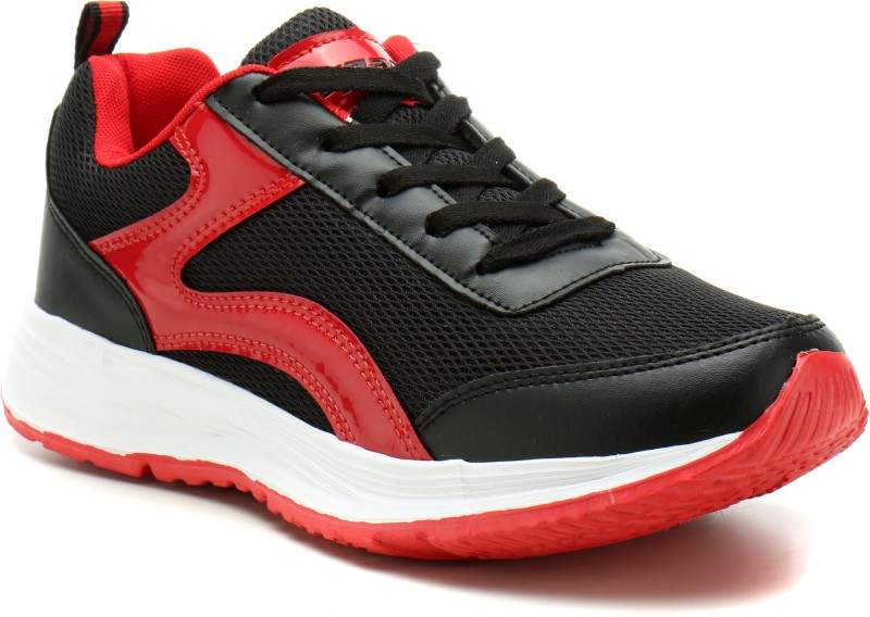 Sparx SL-513 Running Shoes For Women(Black, Red)