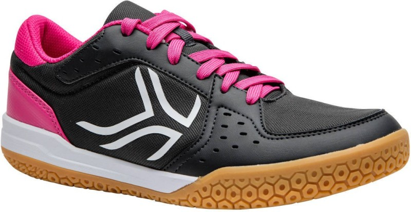 ARTENGO by Decathlon BS730 Badminton Shoes For Women(Grey, Pink)