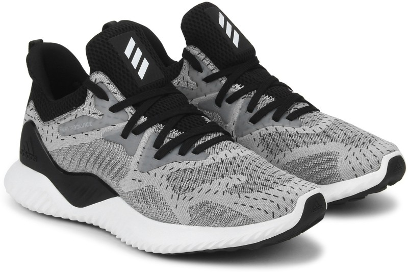 low priced a0946 dba32 Adidas ALPHABOUNCE BEYOND W Running Shoes For Women(Black, Grey)