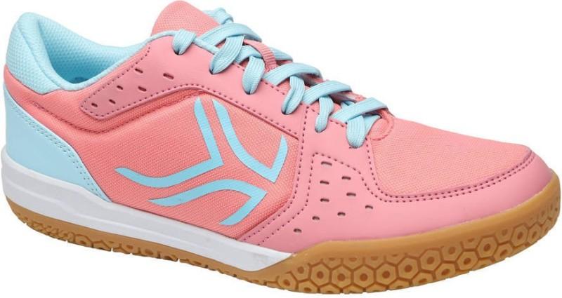 ARTENGO by Decathlon BS730 Badminton Shoes For Women(Pink, Blue)