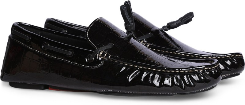 Bata NICK Loafers For Men(Black)