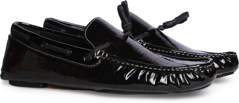 Bata NICK Loafers For Men(Black)