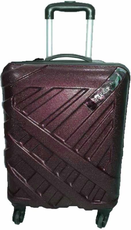 Safari BlING PLUS POLYCARBONATE Cabin Luggage - 20 inch(Purple)