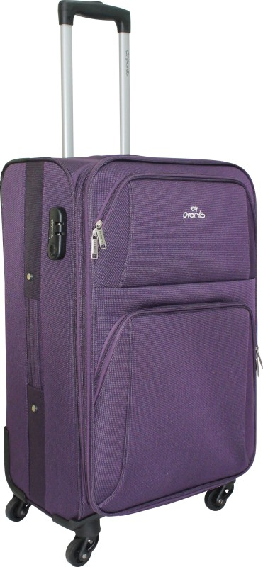 Pronto Camry Expandable Check-in Luggage - 25 inch(Purple)