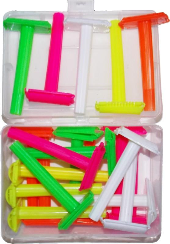 KONIT Plastic Multicolour Safety Shaving Razor (Without Blade)