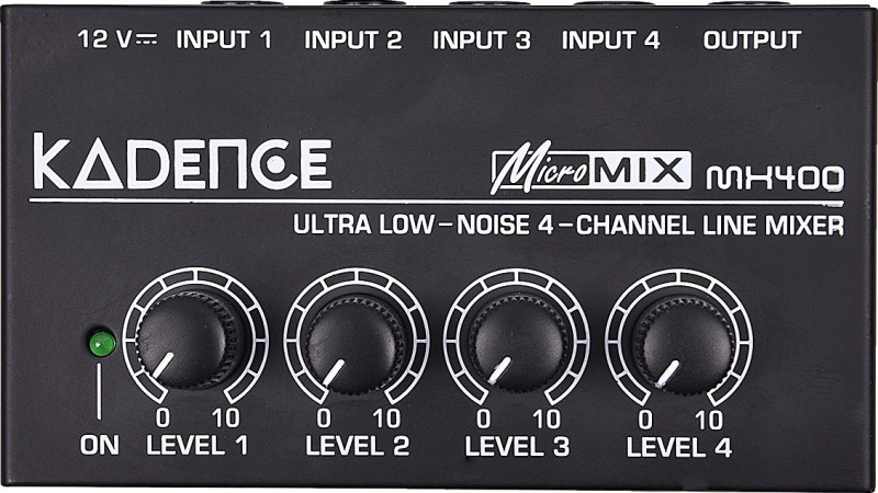 Kadence KAD-MIX-MX400 Analog Sound Mixer