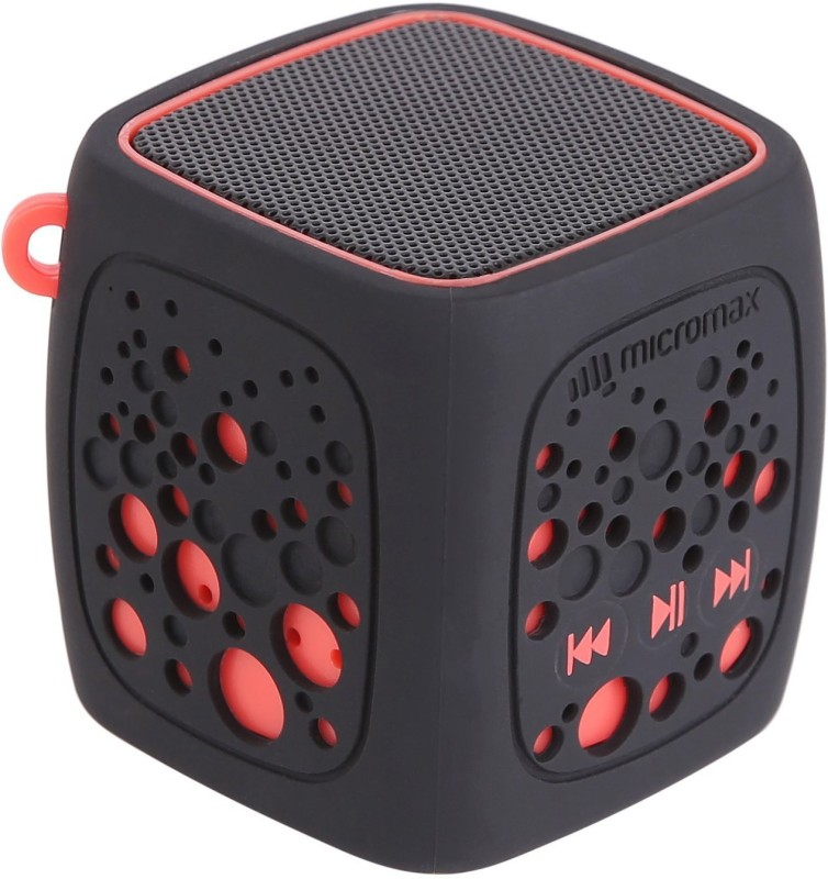 Micromax MBT3WSF 3.7 W Bluetooth Speaker(Red, Mono Channel)