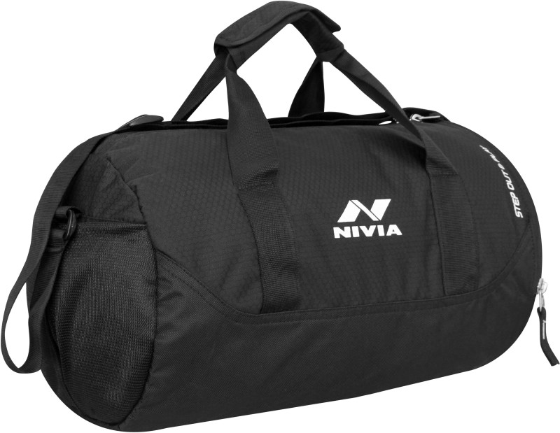 Nivia BEAST GYM BAG-4 Gym(Black, Kit Bag)