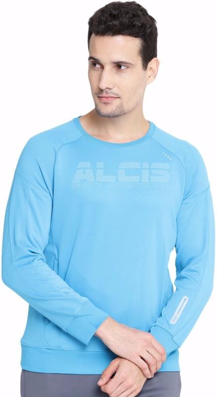 Alcis Full Sleeve Printed Men Sweatshirt
