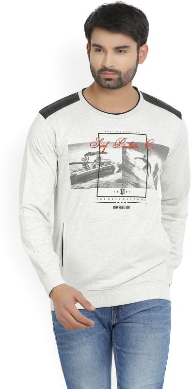 Duke Full Sleeve Printed Mens Sweatshirt