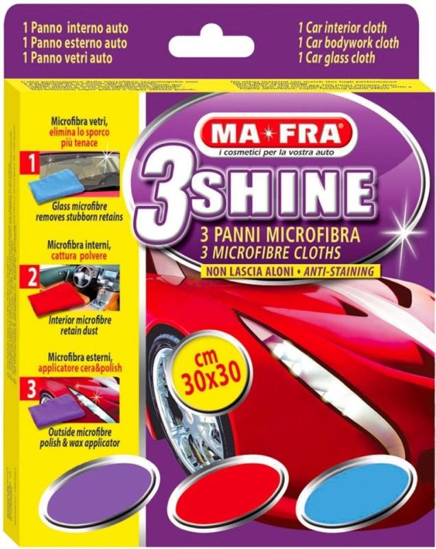 Mafra Microfiber Vehicle Washing Cloth(Pack Of 3)